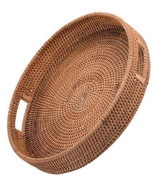 Picture of Round Rattan Trays