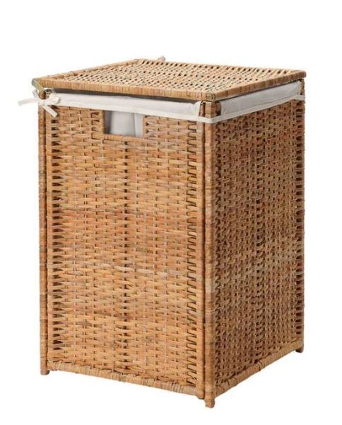 Picture of Rattan Laundry Basket with lining